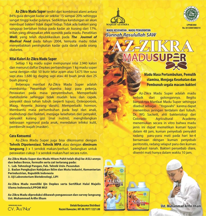 Jual MADU PAHIT AZ ZIKRA Murah Di Surabaya